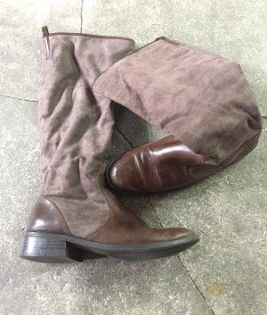 FlashLights Jackboots multicolored leather