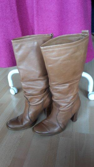 Stiefel Leder Vintage