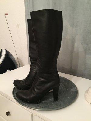 Stiefel Leder  von Madeleine in schwarz