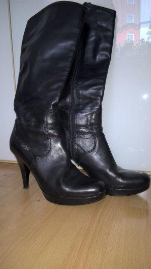 Stiefel,Lederstiefel Gr.36,schwarz,