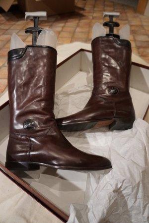 Stiefel Lorenzo Banfi Größe 38,5 schwarz/braun