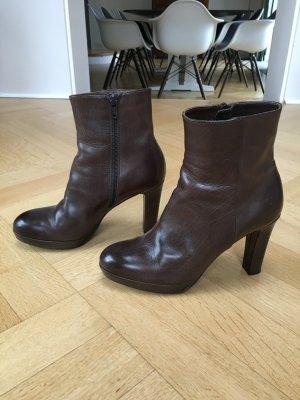 Stiefel Maripe Gr 36,5 braunes Leder Stiefelette
