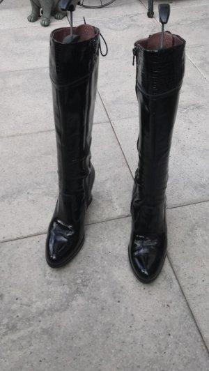 Nero Giardini Plateauzool Laarzen zwart
