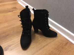 Just Fab Heel Boots black