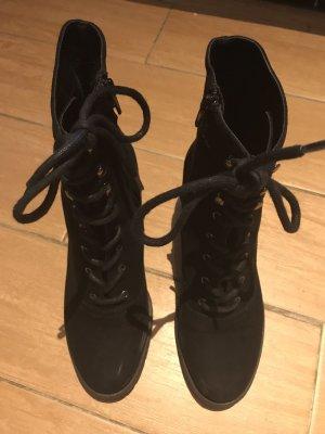 Stiefel mit Absatz/Schwarz