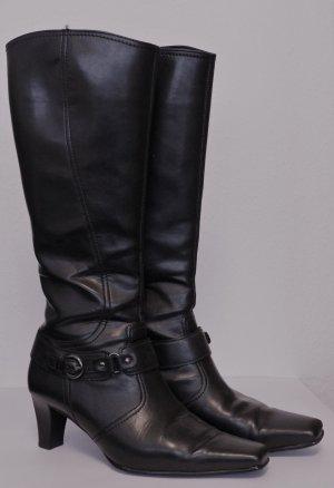 Stiefel mit Absatz von Gabor Gr. 38,5, schwarz