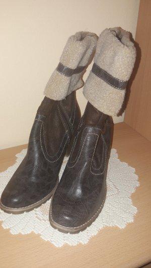 Stiefel mit Fell von Tamaris