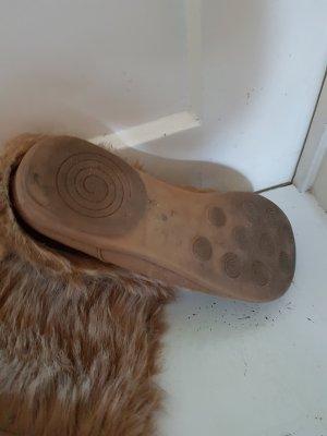 Stiefel mit Kunst Fell