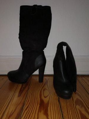 Even & Odd Platform Boots black