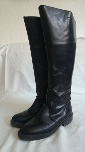 Zara Wide Calf Boots black