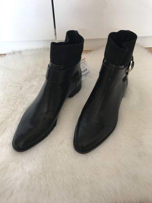 Stradivarius Botas deslizantes negro