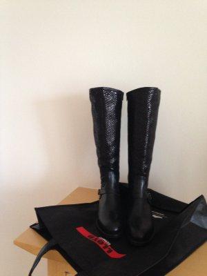 Lloyd Jackboots black leather
