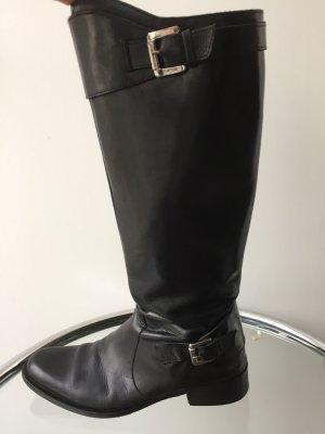 Stiefel normale Schaftweite in schwarz
