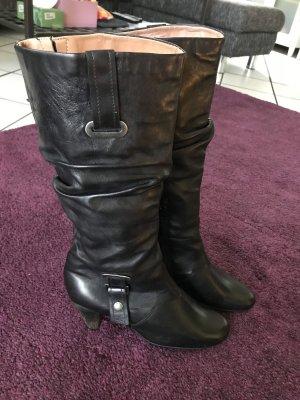 A.S.98 Jackboots black-beige leather