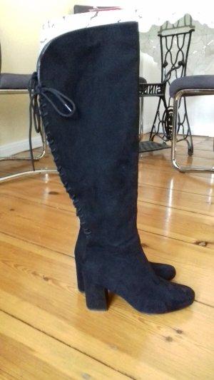Anna Field Overknees black imitation leather