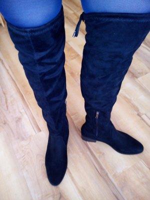 Stiefel Overknee schwarz