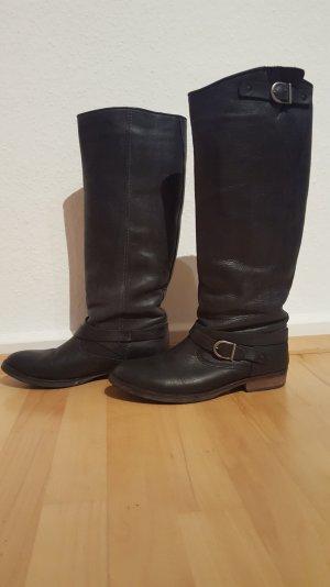 Stiefel Reiterstiefel Pieces Gr 41 schwarz