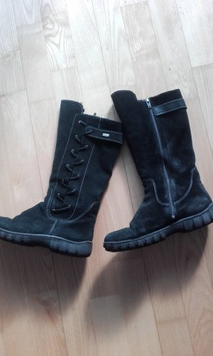 Richter Winter Boots black leather