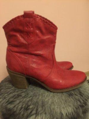 Stiefel rot Gr 38. -38,5