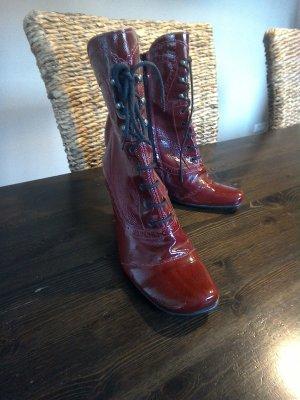 Stiefel  rot Größe 41 von Wenz
