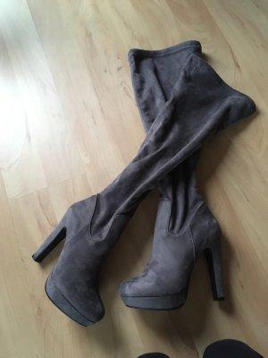 Stiefel Samtoptik
