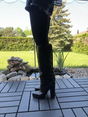 Stiefel schwarz Calvin Klein Collection 36