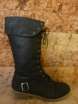 Stiefel schwarz der Marke fafala