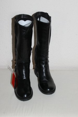 Stiefel schwarz Gr.36 Pierrre Cardin