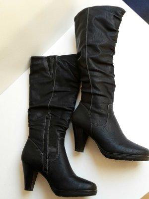 Stiefel schwarz gr 37