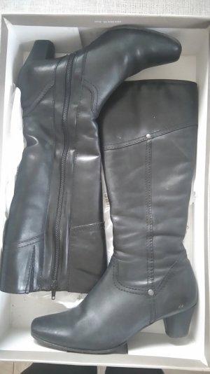 Stiefel schwarz, Gr. 38