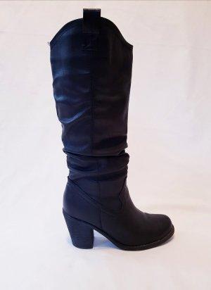 Stiefel schwarz Gr. 38 neuwertig