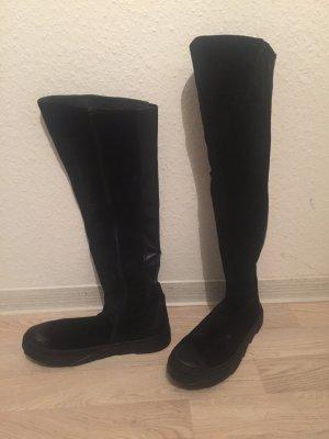 Stiefel schwarz Gr 39