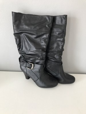 Stiefel schwarz guter Zustand Größe 38