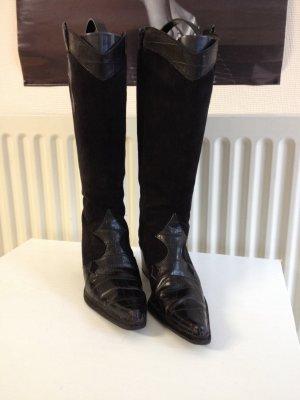 Stiefel schwarz in Gr.38