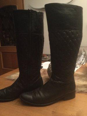 Stiefel schwarz, Leder von Peter Kaiser