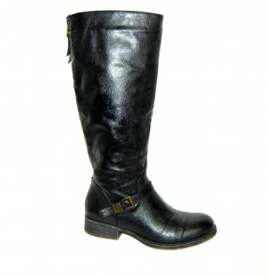 Graceland Jackboots black imitation leather