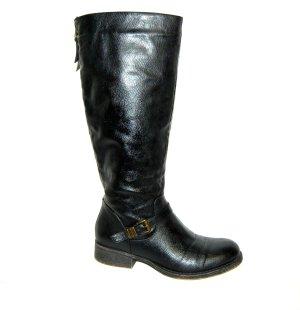 Stiefel schwarz von Graceland Gr.38