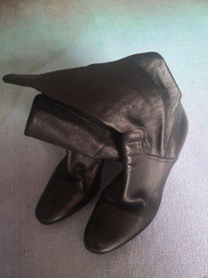 Stiefel Stiefeletten 2 in 1 Gr. 36,5 Leder