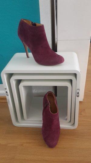 Stiefel Stiefeletten Booties Ankleboots Wildleder