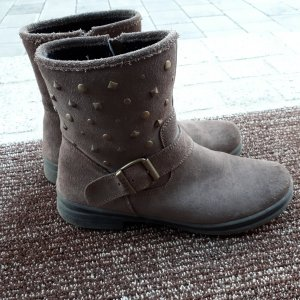 Bama Booties grey brown