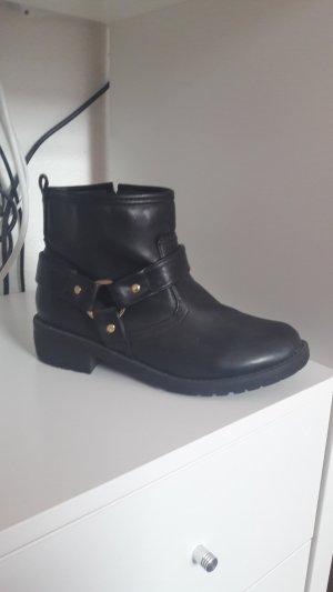 Stiefel Stiefeletten schwarz von H&M Größe 36