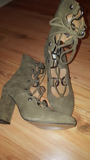 H&M Studio Booties khaki