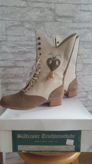 Südtiroler Schuhe Bottines à lacets multicolore
