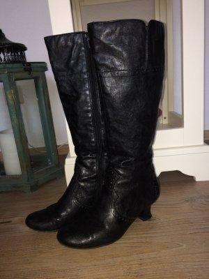 Stiefel Tamaris Absatz 5cm schwarz