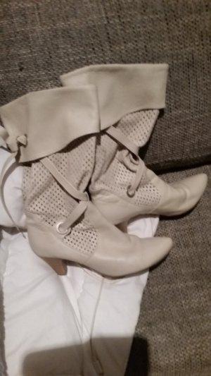 Tamaris Bottes à l'écuyère beige clair