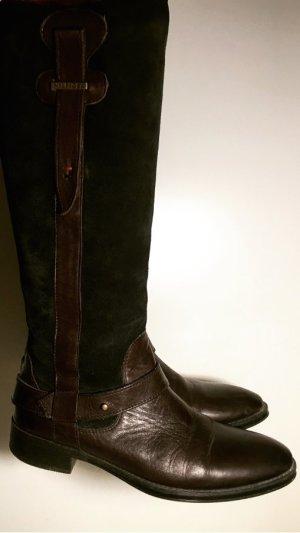 Stiefel Tommy Hilfiger aus Glatt- & Wildleder