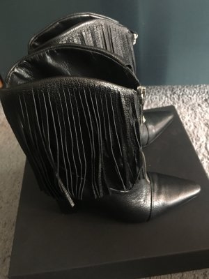 VERSUS Versace Stivaletto cut out nero