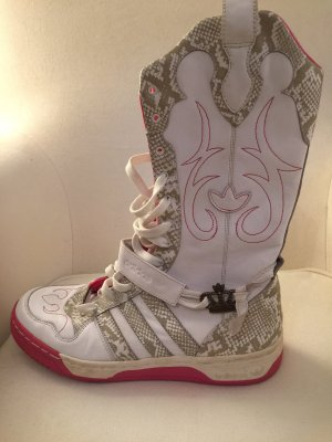 Adidas Stivale da neve bianco-rosa
