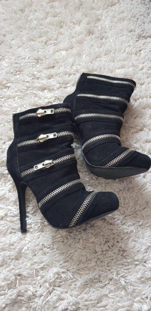 Aldo High Heel Boots black
