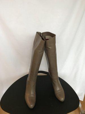 Bally Bottes à talon haut chameau cuir